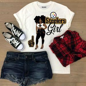 Tops - Custom Nfl Steelers T-shirt